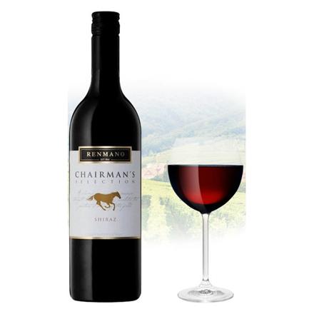 图片 Renmano Chairman's Selection Shiraz Australian Red Wine 750 ml, RENMANOSHIRAZ