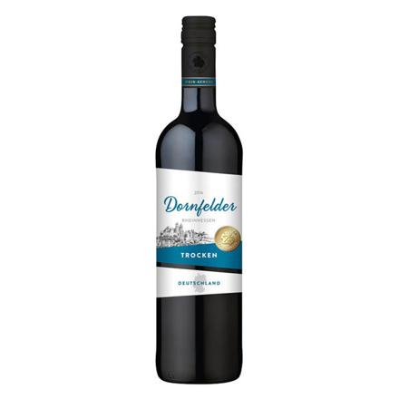 图片 Wein-Genuss Dornfelder Trocken German Red Wine 750 ml, WEINTROCKEN