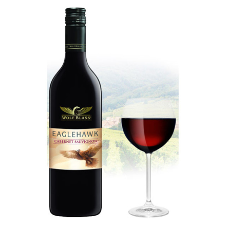 图片 Wolf Blass Eaglehawk Cabernet Sauvignon Australian Red Wine 750 ml, WOLFBLASSCABERNET