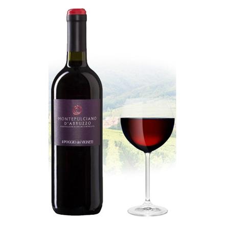 图片 Il Poggio Montepulciano d'Abruzzo Italian Red Wine 750 ml, ILPOGIOD'ABRUZZO