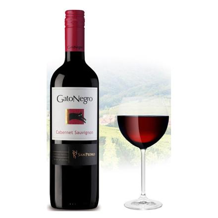图片 Gato Negro Cabernet Sauvignon Chilean Red Wine 750 ml, GATONEGROSAUVIGNON