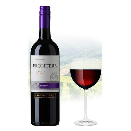 图片 Frontera Merlot Chilean Red Wine 750 ml, FRONTERAMERLOT