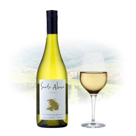 圖片 Santa Alvara Reserva Chardonnay Chilean White Wine 750 ml, SANTAALVARACHARDONNAY