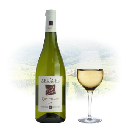 圖片 Chantelauze Ardèche Blanc French White Wine 750 ml, CHANTELAUZEBLANC