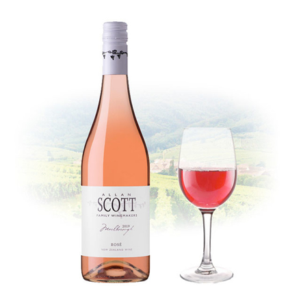 圖片 Allan Scott Rose New Zealand Pink Wine 750 ml, ALLANSCOTTROSE