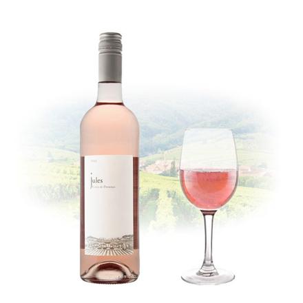圖片 Jules Rose Cotes De Provence AOC French Pink Wine 750 ml, JULESROSE