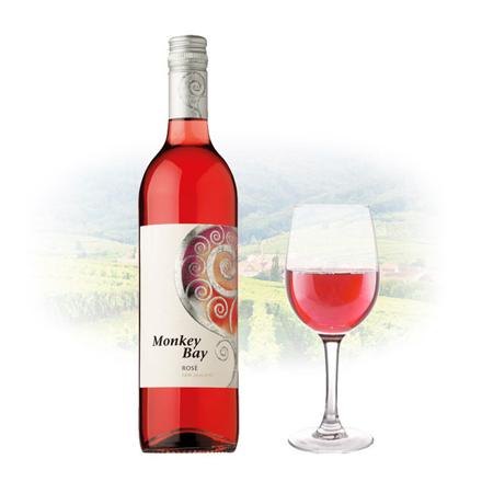 圖片 Monkey Bay Rose New Zealand Pink Wine 750 ml, MONKEYBAYROSE