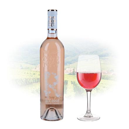 圖片 Chateau Roubine 'R' Roubine Rose French Pink Wine 750 ml, CHATEAUROSE