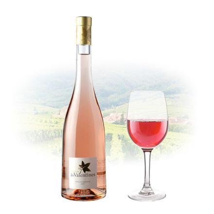 圖片 Chateau Les Valentines Cotes de Provence Rose French Pink Wine 750 ml, CHATEAUPROVENCE