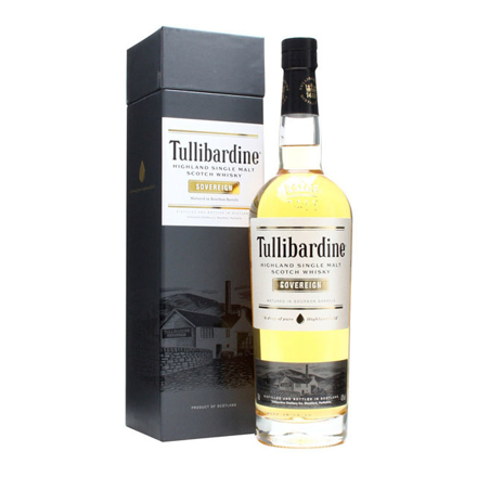 图片 Tullibardine Sovereign Bourbon Cask Single Malt Scotch Whisky 700 ml, TULLIBARDINESOVEREIGN