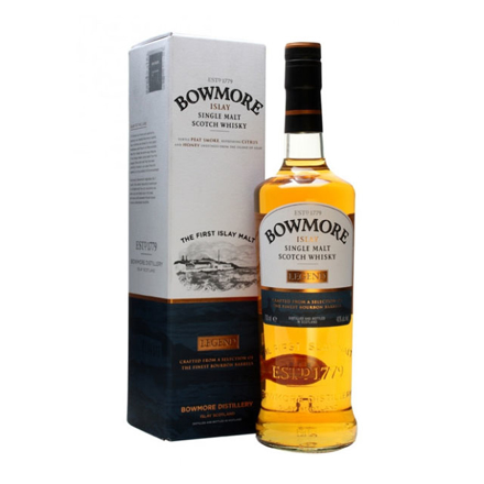 图片 Bowmore Legend Single Malt Scotch Whisky 700 ml, BOWMORELEGEND