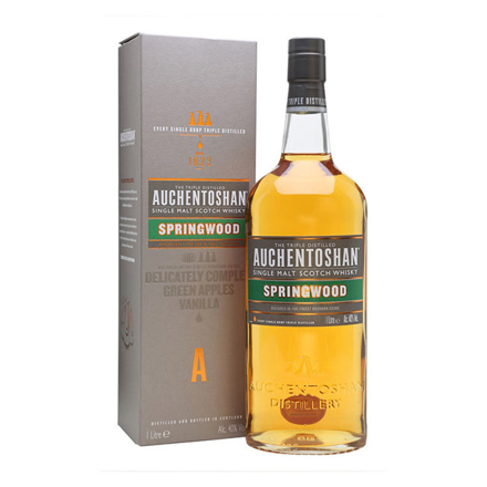 图片 Auchentoshan Springwood Single Malt Scotch Whisky 1L, AUCHENTOSHANSPRINGWOOD