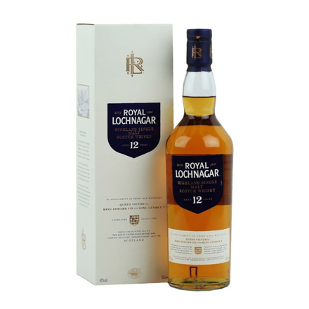 图片 Royal Lochnagar 12 Year Old Single Malt Scotch Whisky 700 ml, ROYALLOCHNAGAR12