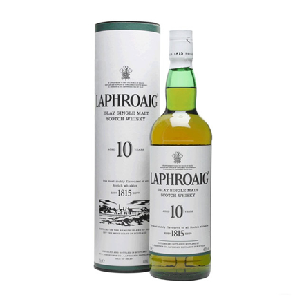 图片 Laphroaig 10 Year Old Single Malt Scotch Whisky 700 ml, LAPHROAIG10