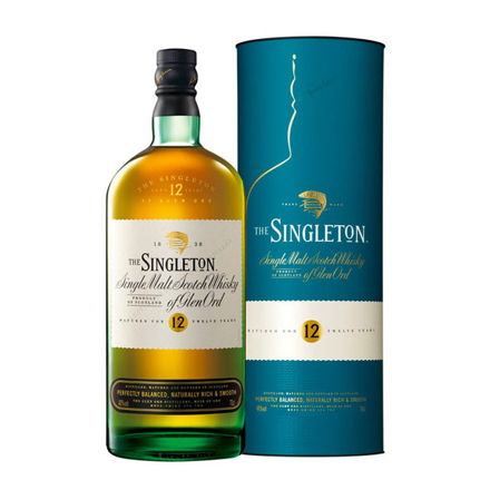 图片 The Singleton Glen Ord 12 Year Old Single Malt Scotch Whisky 700 ml, THESINGLETONGLEN12