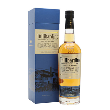 图片 Tullibardine 225 Sauternes Finish Single Malt Scotch Whisky 700 ml, TULLIBARDINE225