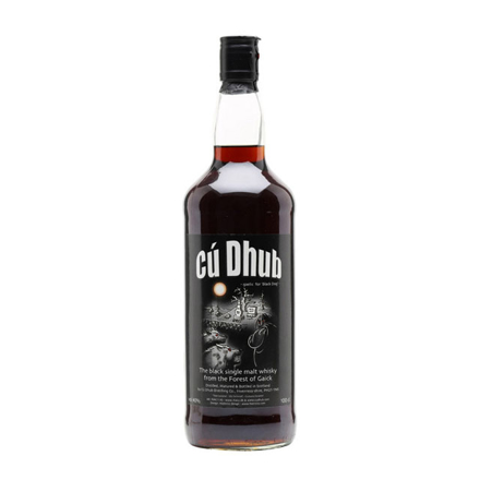 图片 Cu Dhub Black Whisky Single Malt Scotch Whisky 700 ml, CUDHUBBLACK