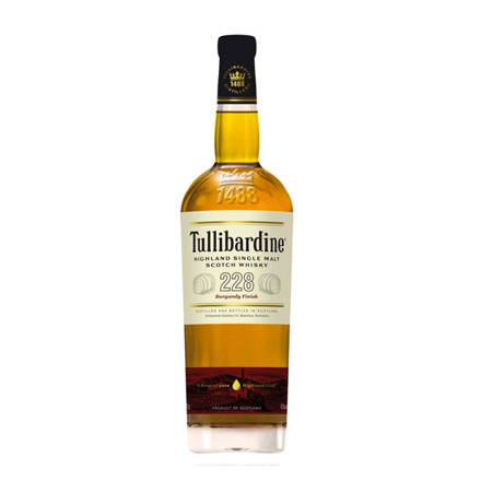 图片 Tullibardine 228 Burgundy Finish Single Malt Scotch Whisky 700 ml, TULLIBARDINE228
