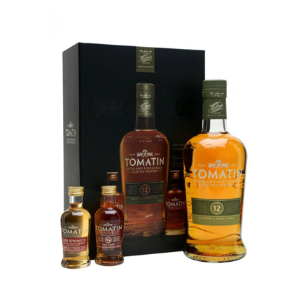 图片 Tomatin 12 Year Old Gift Box Single Malt Scotch Whisky 700 ml, TOMATIN12GIFTBOX