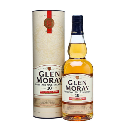 图片 Glen Moray 10 Year Old Single Malt Scotch Whisky 700 ml, GLENMORAY10