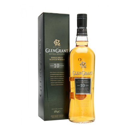 图片 Glen Grant 10 Year Old Single Malt Scotch Whisky 700 ml, GLENGRANT10