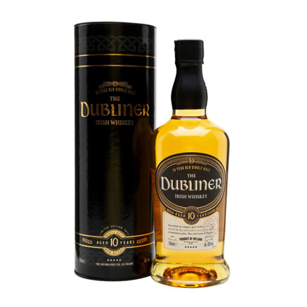 图片 The Dubliner 10 Year Old Single Malt Irish Whiskey 700 ml, THEDUBLINER10