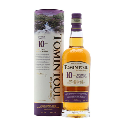 图片 Tomintoul 10 Year Old Single Malt Single Malt Scotch Whisky 700 ml, TOMINTOUL10
