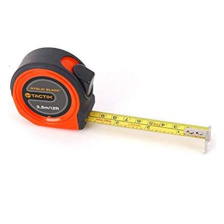 圖片 Tactix Tape Measure 3.5m( 12ft.)x 13mm, 5m(16ft.)x19mm, 8m(26ft.)x25mm, ME582003