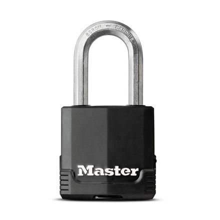 圖片 Master Lock Padlock Laminated Steel 49mm 38mm Shackle, MSPM115DLF
