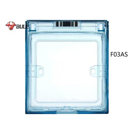 圖片 Bull Square Splashproof Cover (Light Blue), F03AS