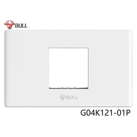 圖片 Bull 1 Gang Plate (White), G04K121-01P