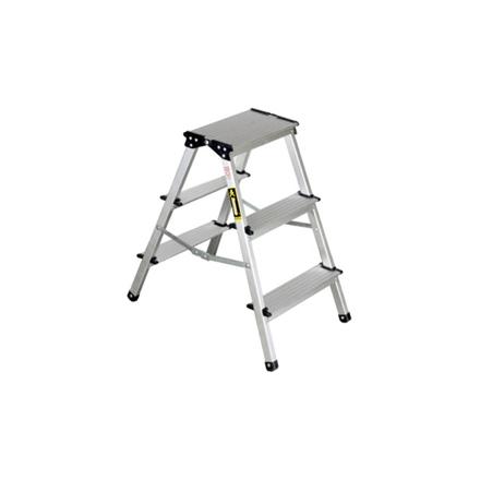 圖片 Jinmao Aluminum 3 Steps Folding Step Ladder, JMA082203
