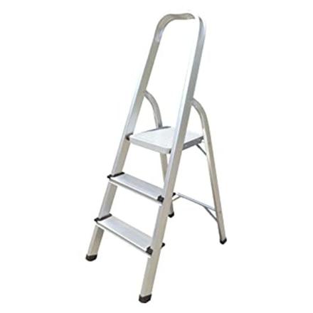 圖片 Jinmao Aluminum 3 Step Household Ladder 150 kg, JMA017103