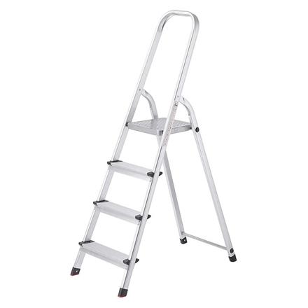 圖片 Jinmao Aluminum 4 Steps Household Step Ladder 150 kg, JMA017104