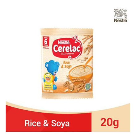 图片 Nestle Cerelac Rice and Soya 20g, CER20