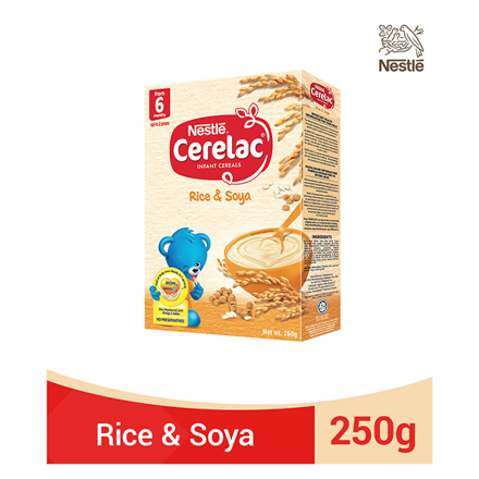 图片 Nestle Cerelac Rice and Soya 250g, CER27