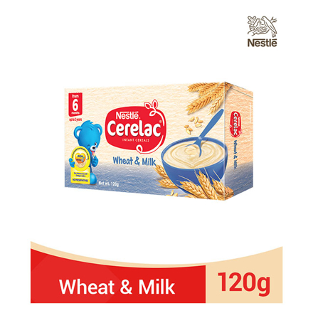 图片 Nestle Cerelac Wheat and Milk 120g, CER10