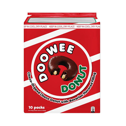 图片 Rebisco Doowee Donut 10 packs (Chocolate, White chocolate, Strawberry), DOO01