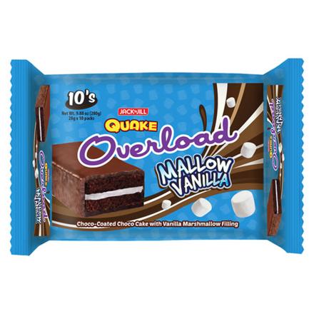 图片 Jack 'N Jill Quake Overload Mallow Vanilla 10 packs, QUA09