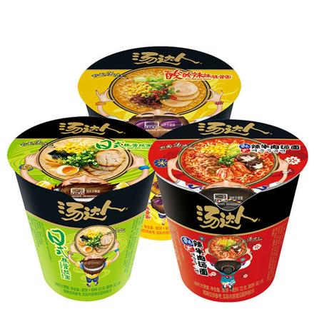 圖片 12 Cups Tangdaren Instant Noodle Fangbianmian