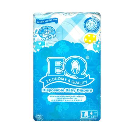 圖片 EQ Diaper Colors Large 4's, EQ090