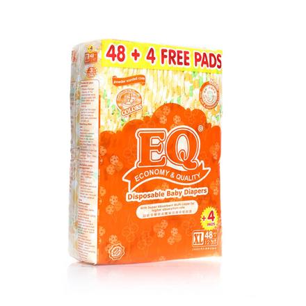 圖片 EQ Diaper Colors Xtra Large 48+4's, EQ017A