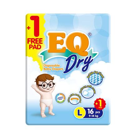 圖片 EQ Diaper Dry Large 16+1's, EQ029AY