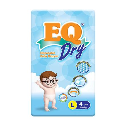 圖片 EQ Diaper Dry Large (4's, 48's, 72's), EQ035Y