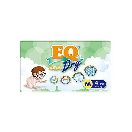 圖片 EQ Diaper Dry Medium 4's, EQ034