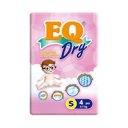 圖片 EQ Diaper Dry Small 4's, EQ033