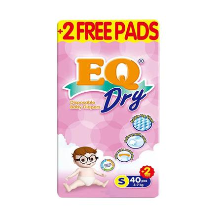 圖片 EQ Diaper Dry Small 40+2's, EQ026A