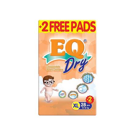 圖片 EQ Diaper Dry Xtra Large 28+2's, EQ032AY