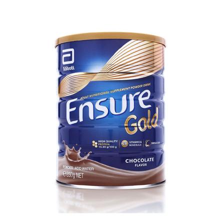 圖片 Ensure Gold Chocolate Gluten and Lactose-free 850g, ENSUREGOLD850