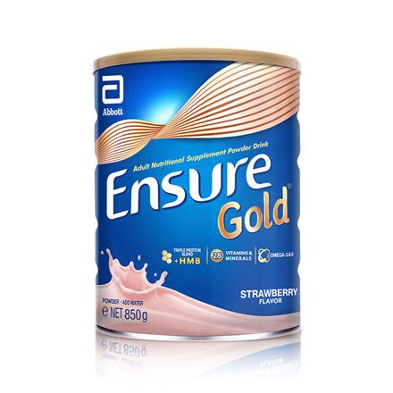 圖片 Ensure Gold HMB Strawberry 850g, ENSURESTRAWBERRY850